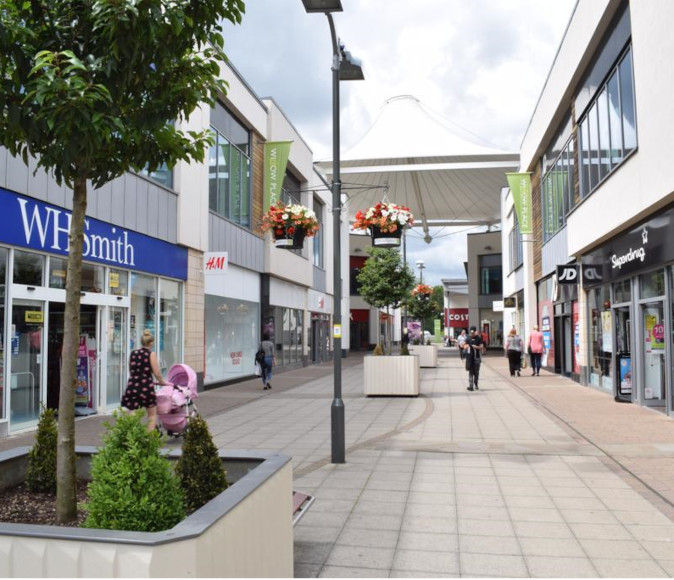 Shops Corby willow place