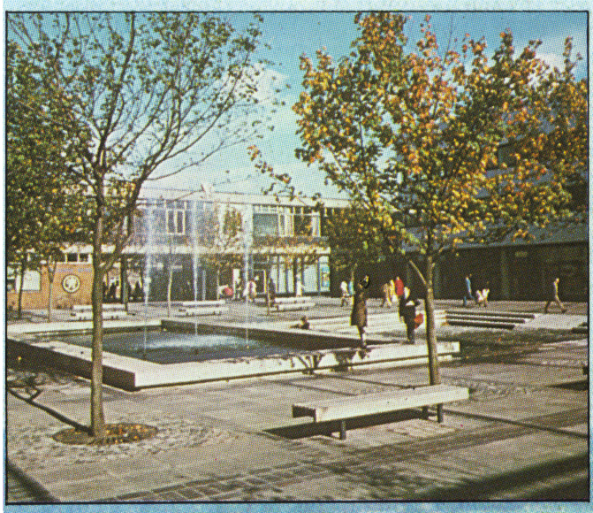 Corby town centre historical photo
